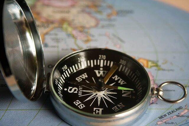 Kompas navigatie